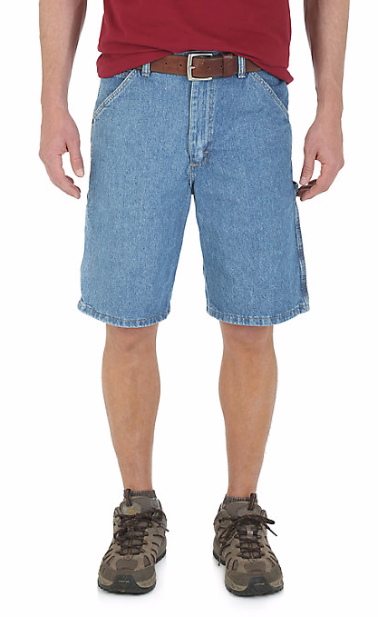 Wrangler Men's Denim Carpenter Short