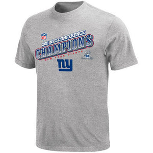 NFL Team Apparel 2011 Giants NFC Champions Big Man Tee Shirt Closeout