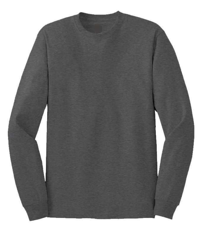 100% Cotton Long Sleeve Tee Closeout-8