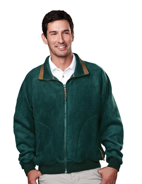 Tri-Mountain Men's Colorblock Nylon/Fleece 3-in-1 System Jacket-2