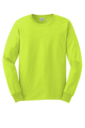 100% Cotton Long Sleeve Tee Closeout-20