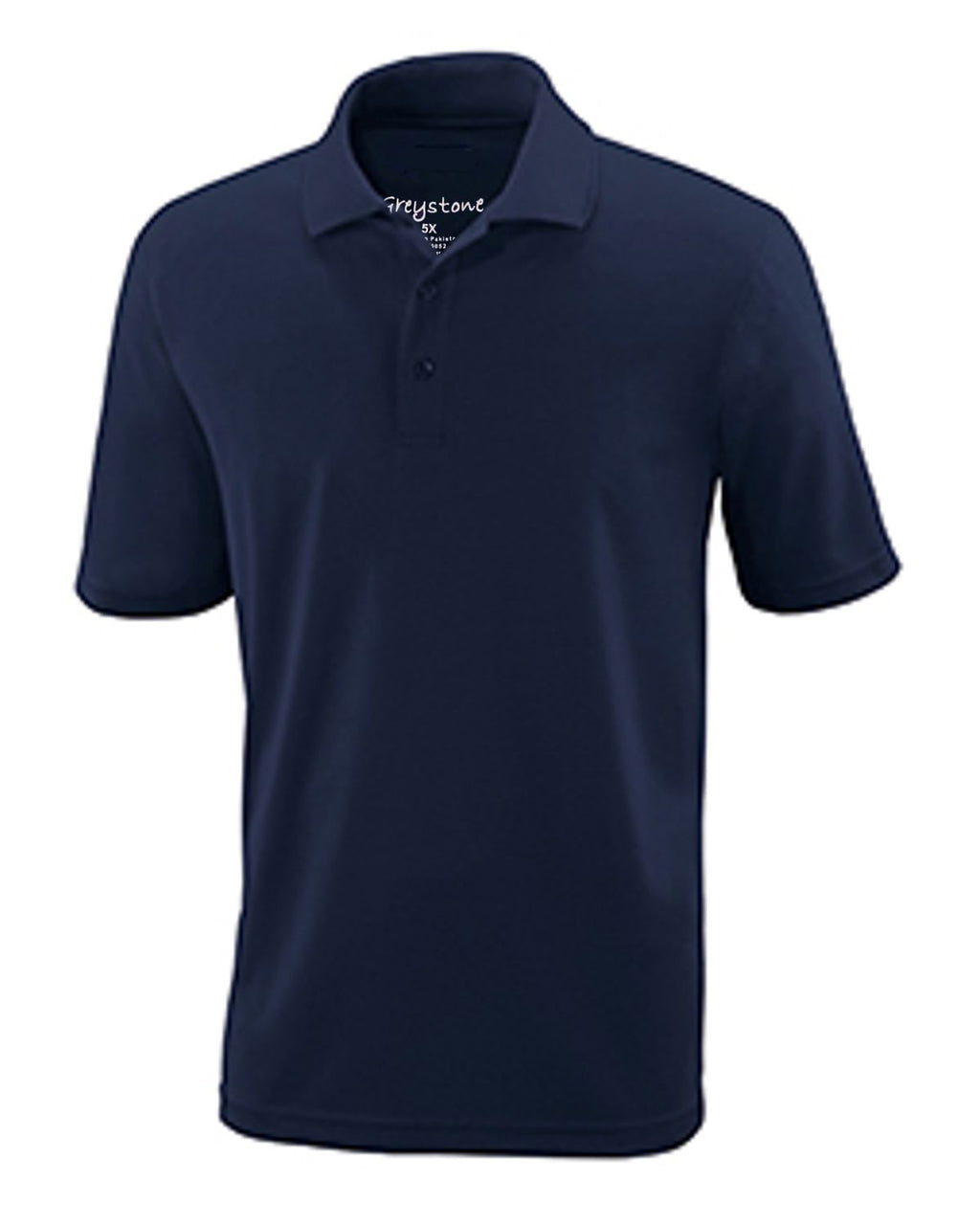 GREYSTONE 60/40 Big Tall Man PIQUE POLO SHIRT-3