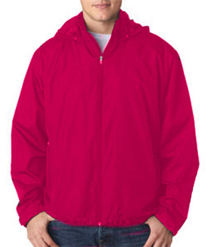 Ultraclub Adult Micro-Poly Fleece-Lined Full-Zip Jacket Closeout