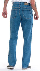 Full Blue Brand Men's Relaxed Fit Jeans Light Wash