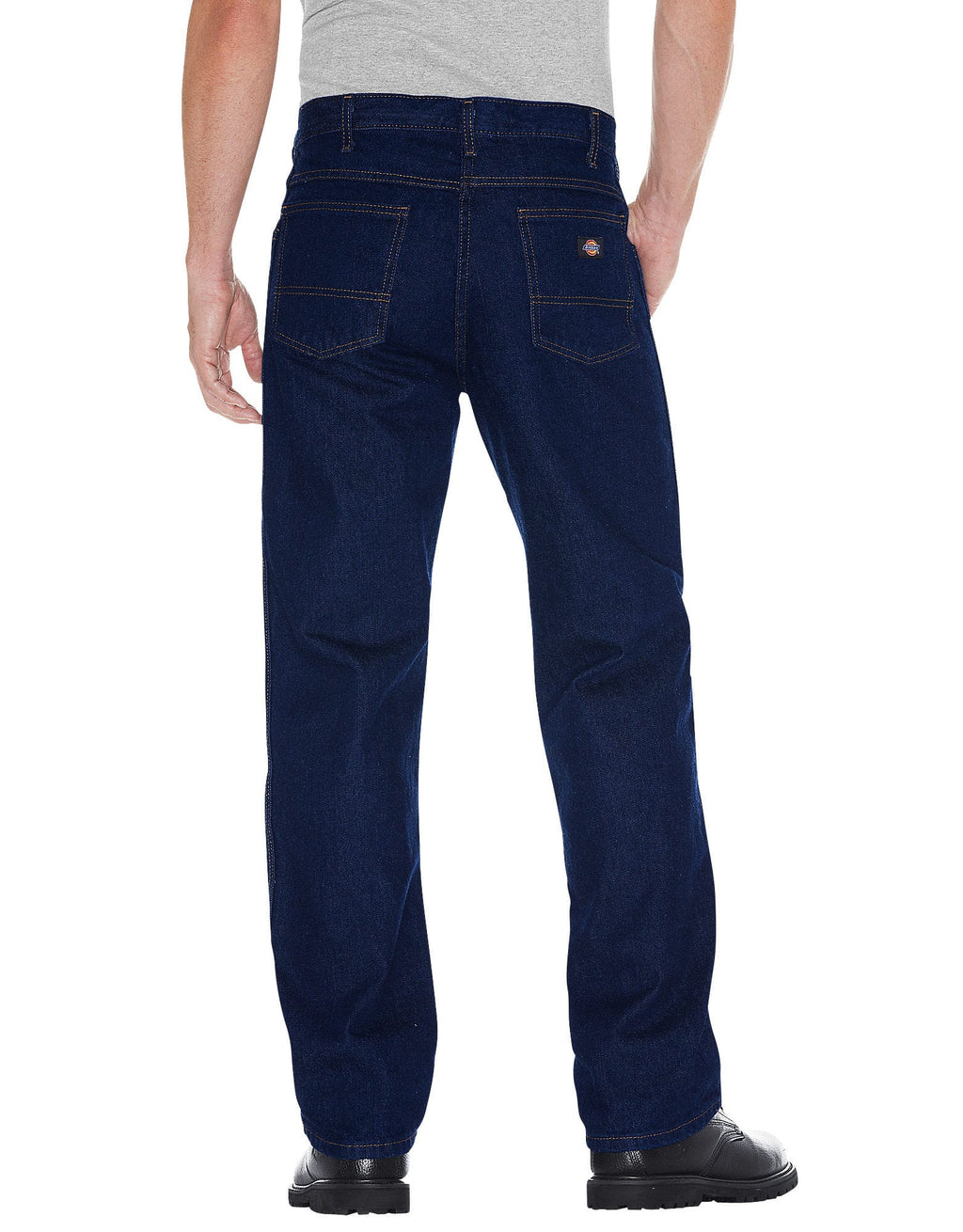 Dickies Mens Regular Fit Prewashed Jeans-2