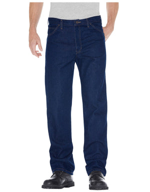 Dickies Mens Regular Fit Prewashed Jeans Closeout