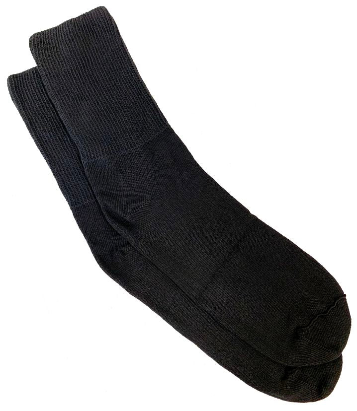 SUPER Extra Wide Bariatric Crew Sock-1