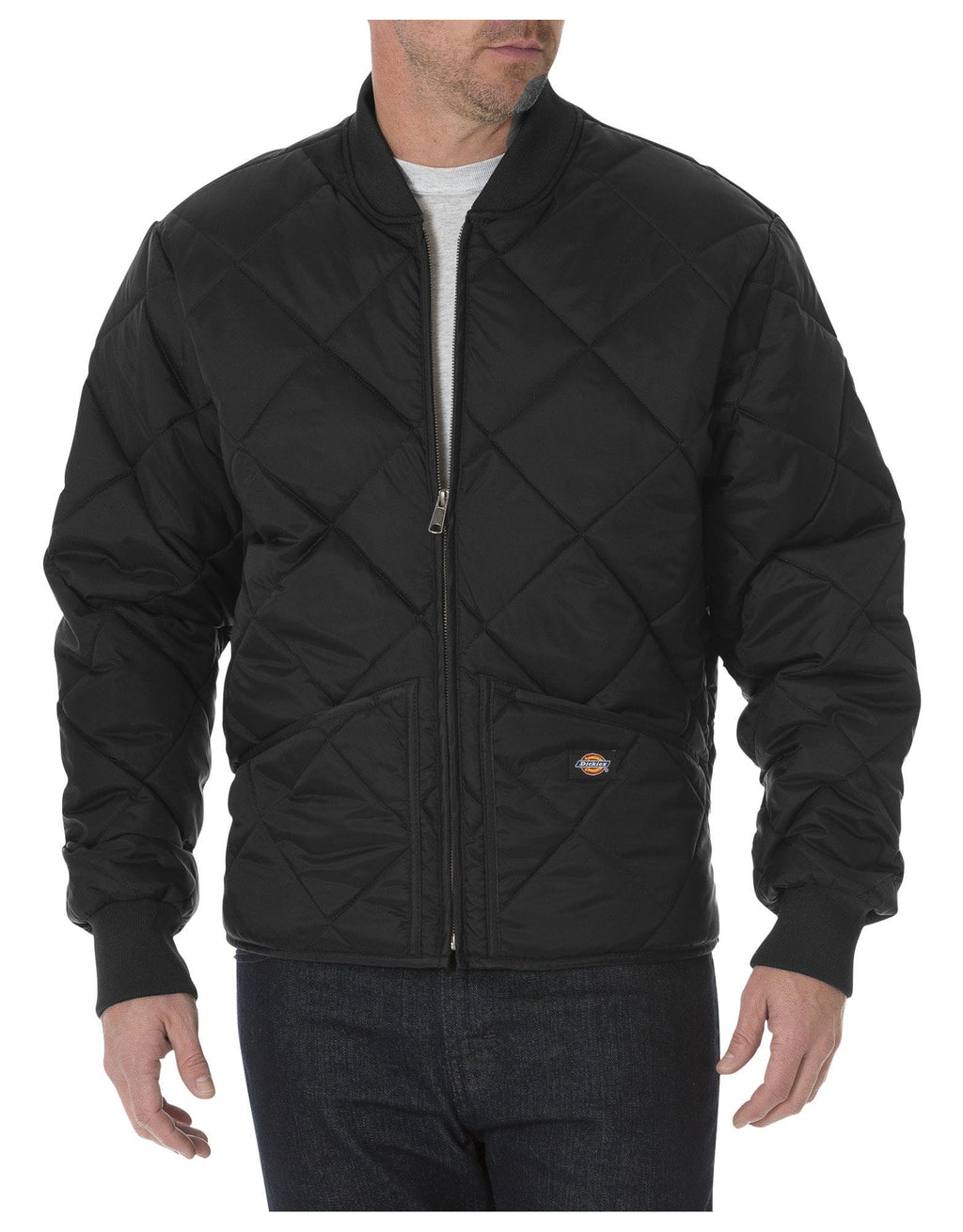 Dickies Diamond Quilted Jacket-1