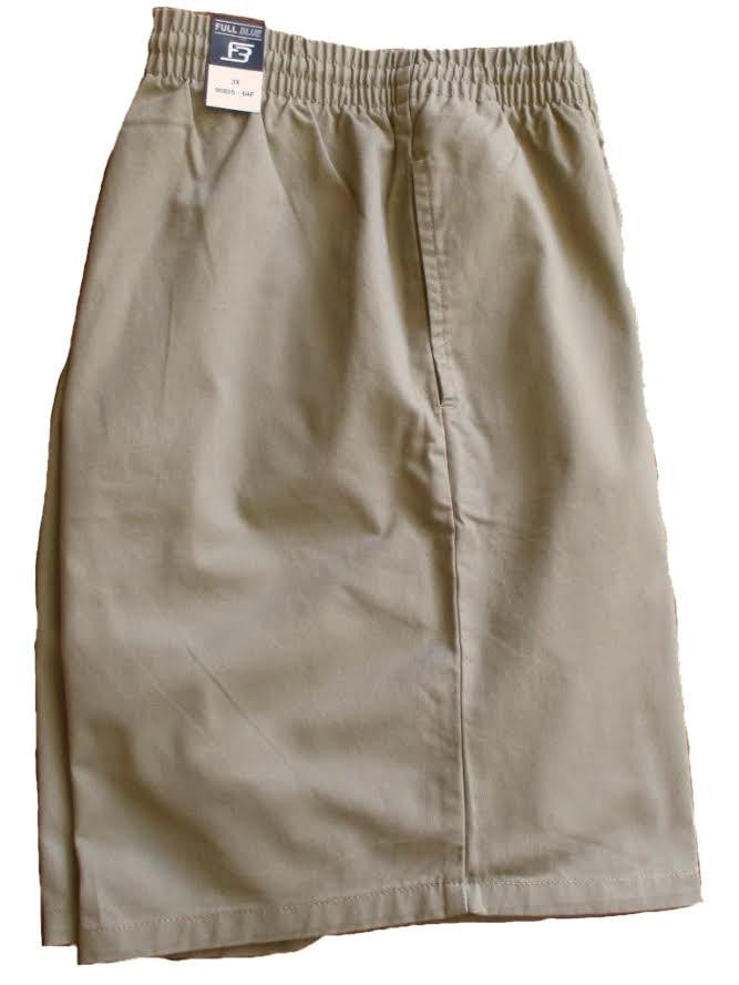Full Blue Brand Men's Pull On Twill Short-1