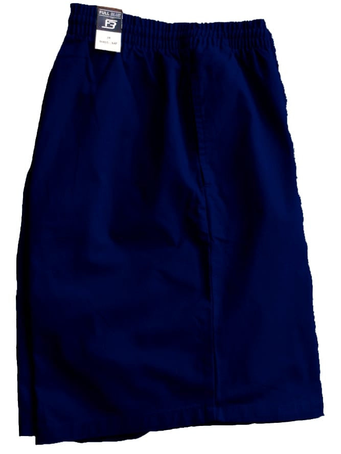 Full Blue Brand Men's Pull On Twill Short