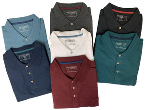 Falcon Bay Poly/cotton Pique Polo With Pocket