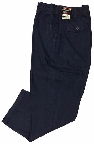 Falcon Bay Men's Full Elastic Casual Denim Pant