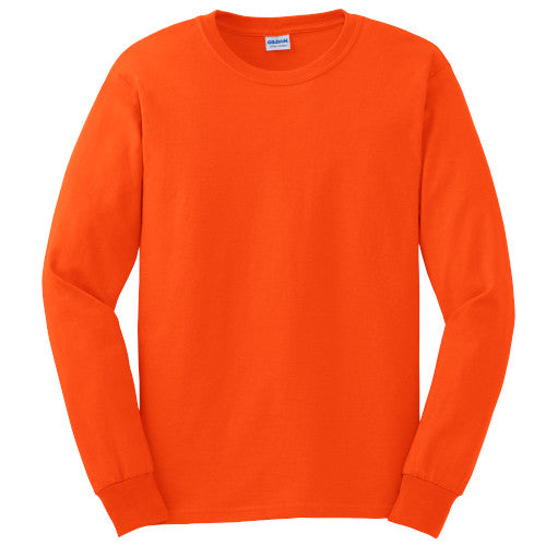 Gildan 100% Cotton Long Sleeve Tee-1
