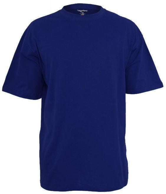 GREYSTONE BIG TALL MAN Cotton Tee Shirt-3