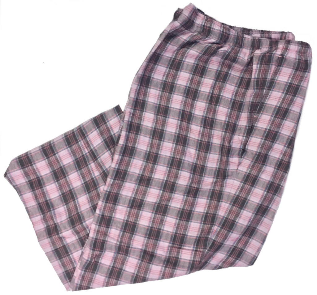 Men's Plaid Flannel Lounge Pants-26