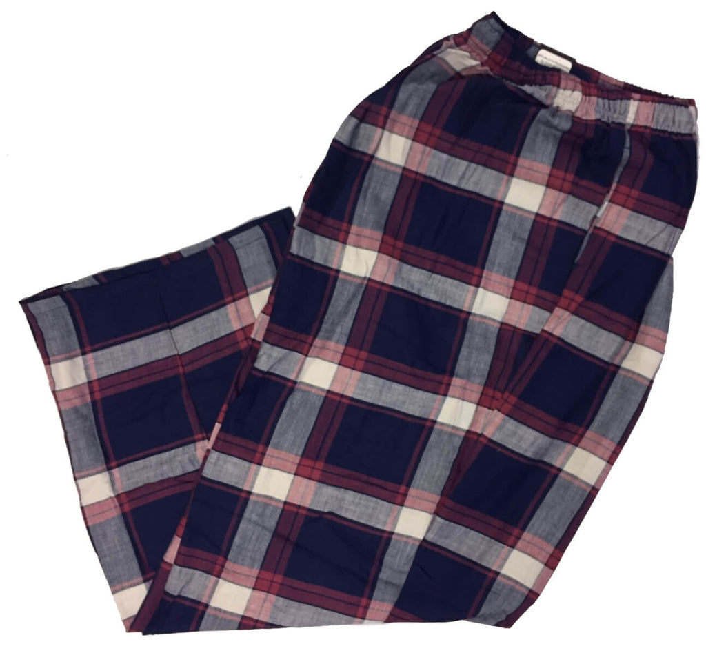 Men's Plaid Flannel Lounge Pants-25