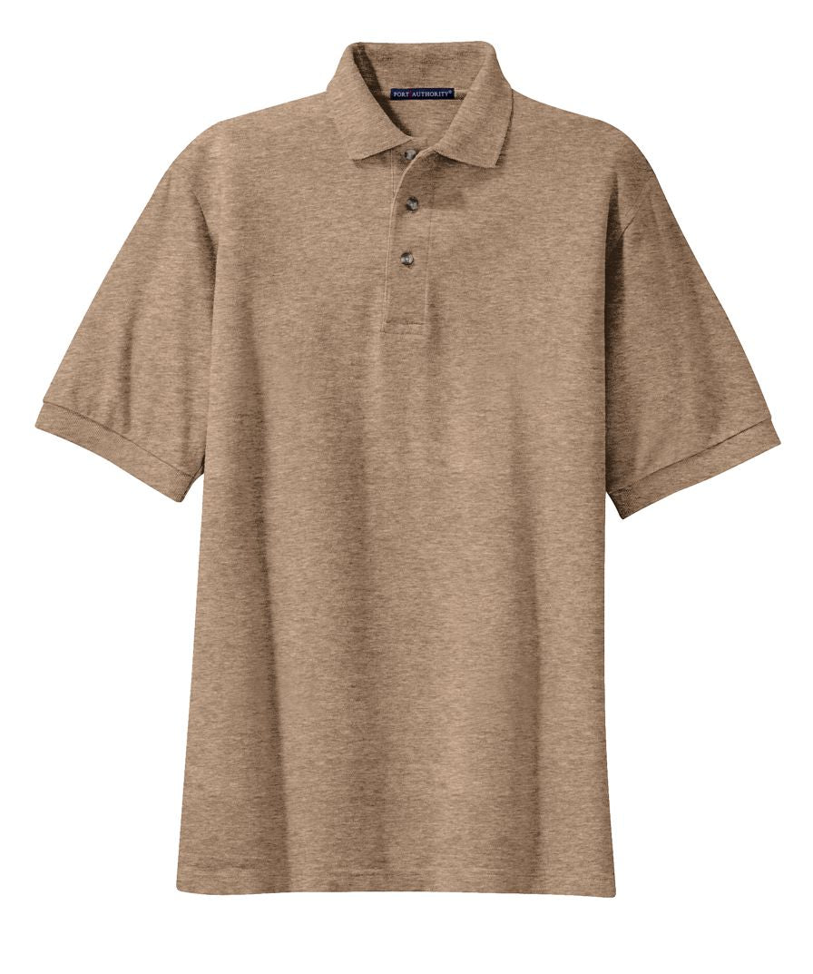 Port Authority Heavyweight Cotton Pique Polo Closeout