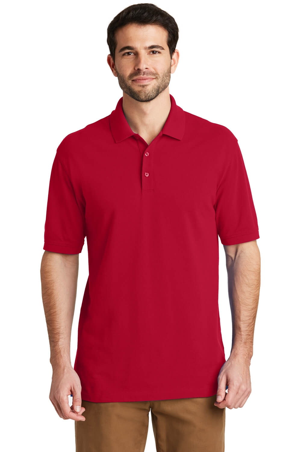 Port Authority Ezcotton Pique Polo Shirt-1
