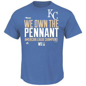 KC WE OWN THE PENNANT Big Man Tee Shirt Closeout