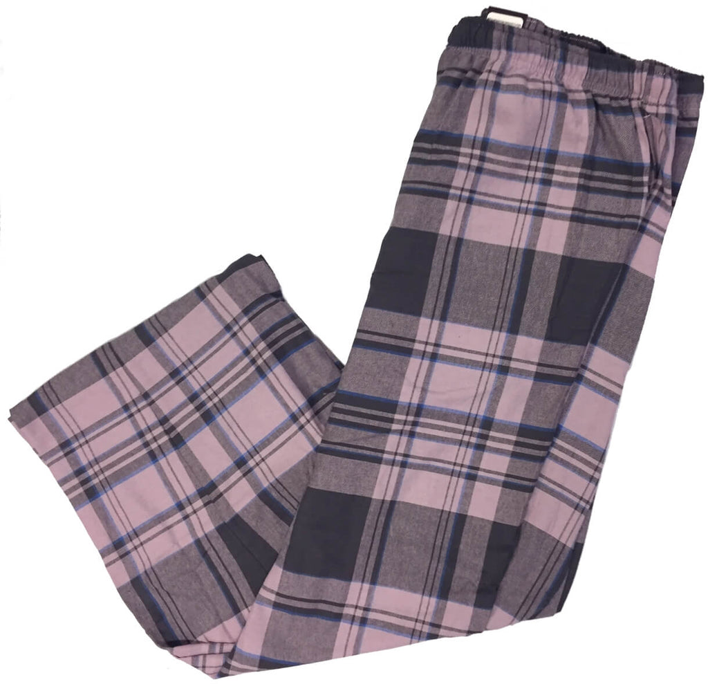 Men's Plaid Flannel Lounge Pants-29