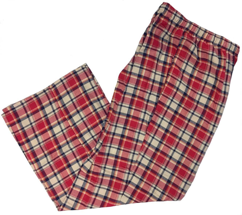 Men's Plaid Flannel Lounge Pants-24