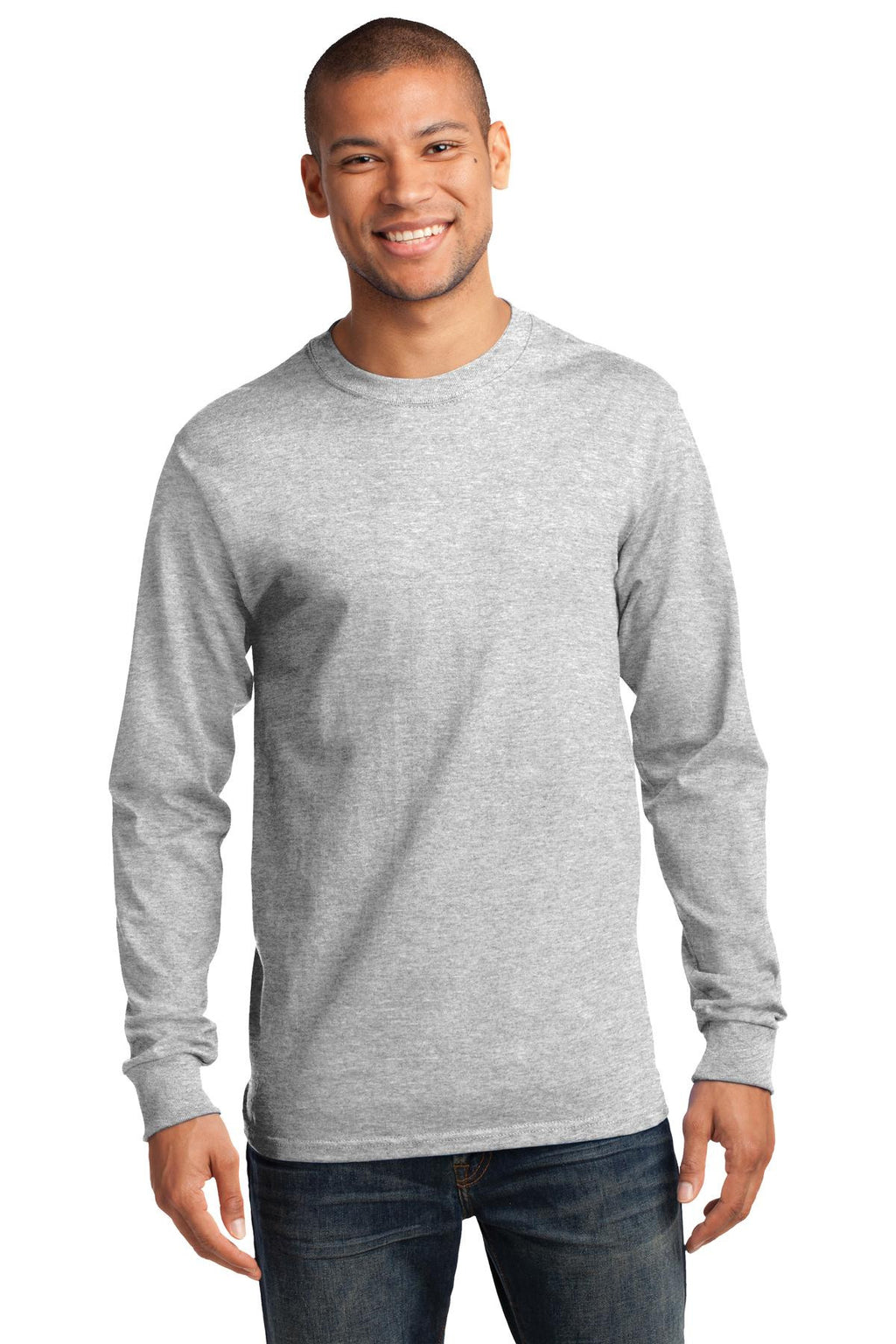 Port & Company Tall Long Sleeve Essential T-Shirt-1