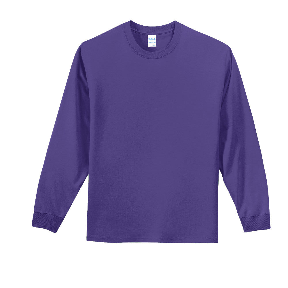 100% Cotton Long Sleeve Tee Closeout-18