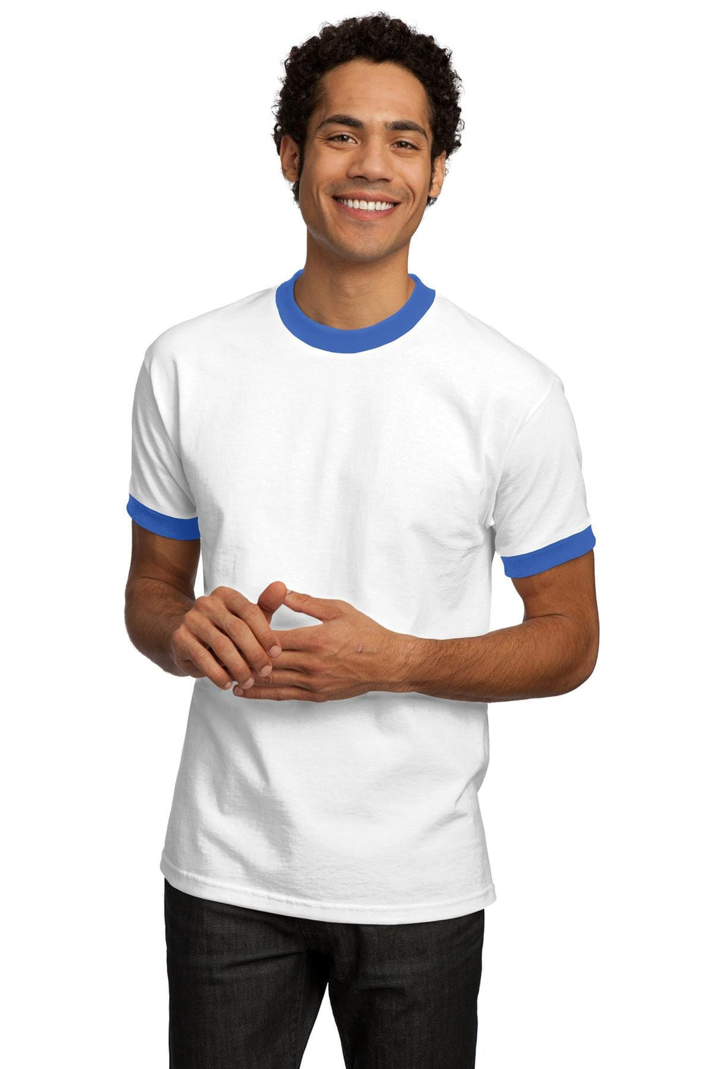 Port & Company Ringer T-Shirt Closeout-1