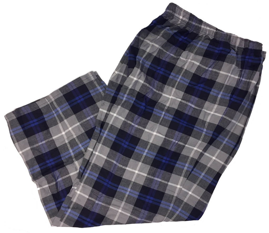 Men's Plaid Flannel Lounge Pants-27