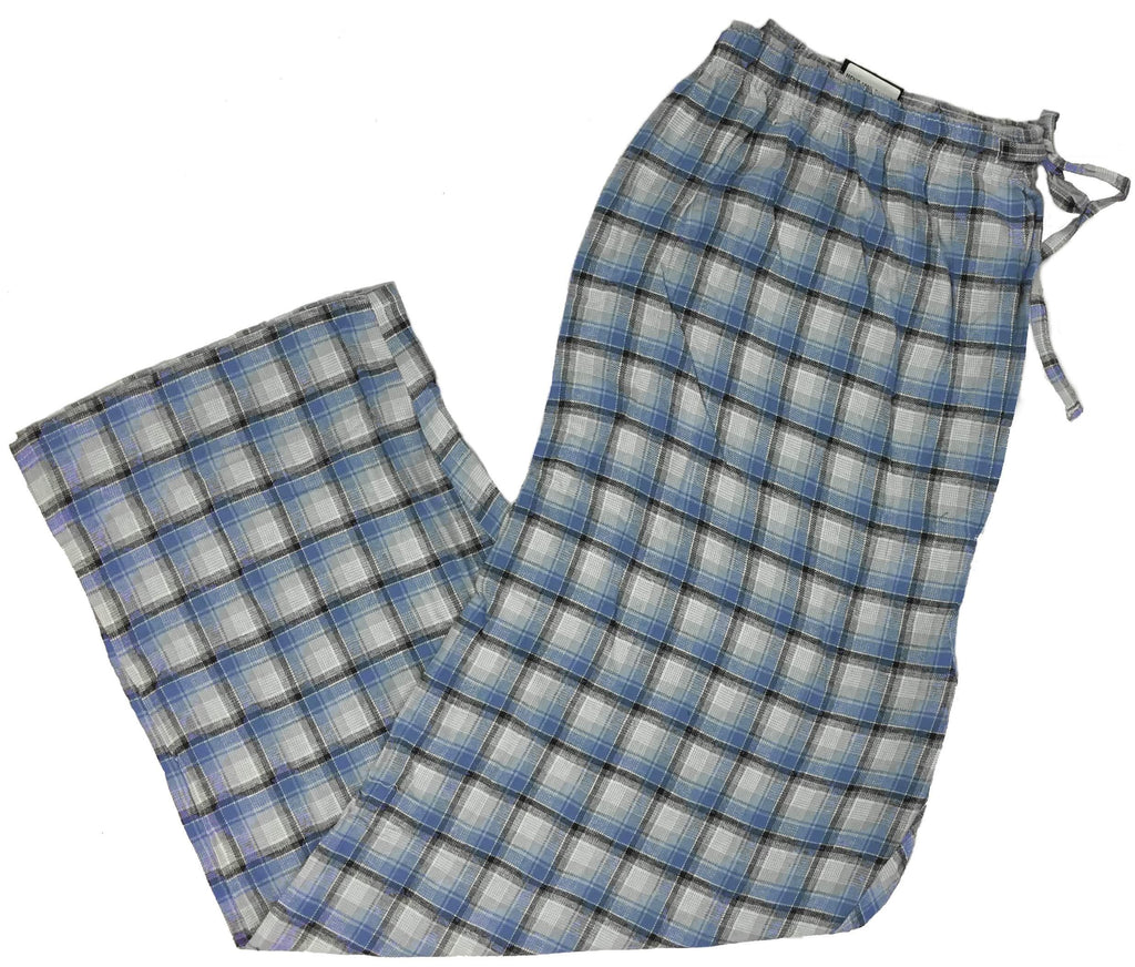 Men's Plaid Flannel Lounge Pants-20