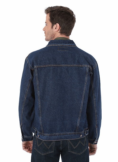 Wrangler Men's Blue Denim Jacket-2