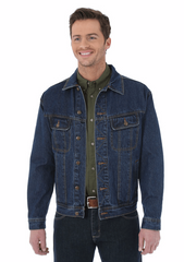 Wrangler Men's Blue Denim Jacket