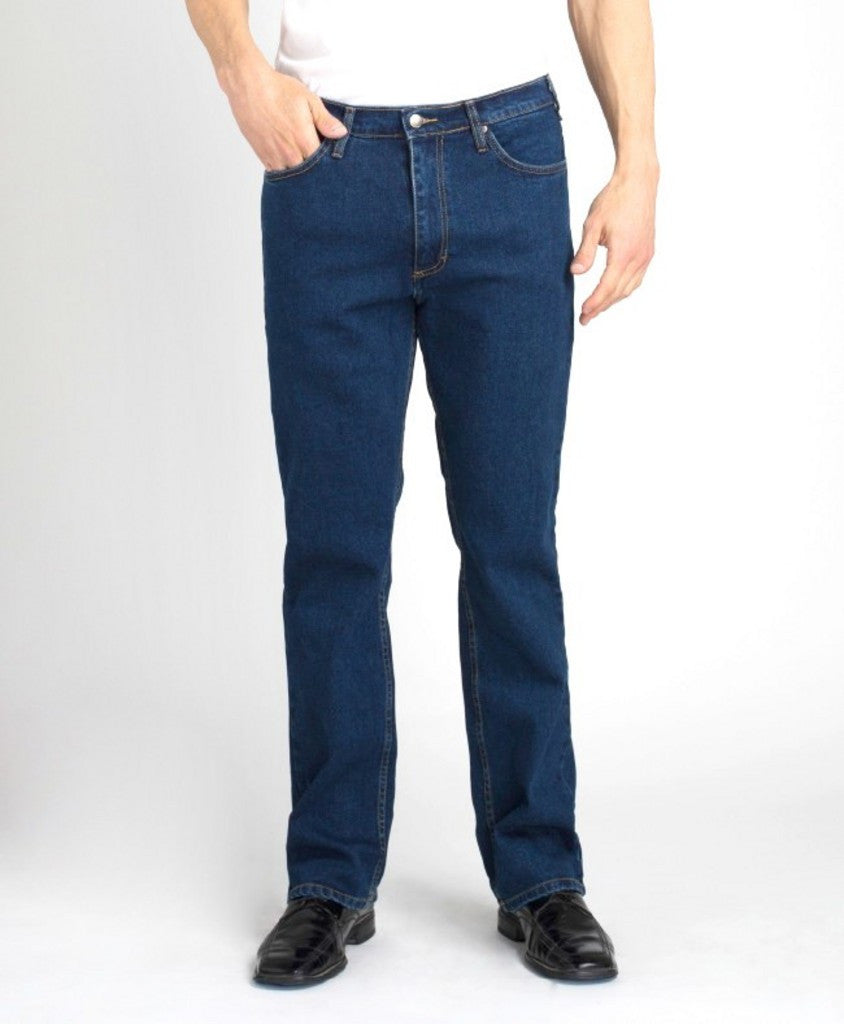 Grand River Men's Dark Blue Stretch Jean