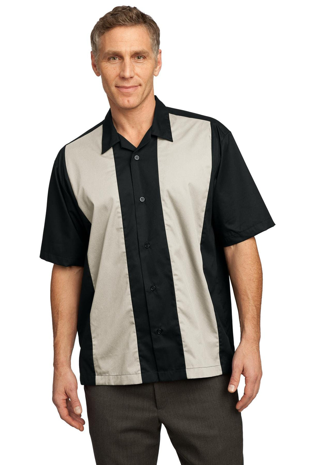 Port Authority Men's Retro Camp Shirt-1