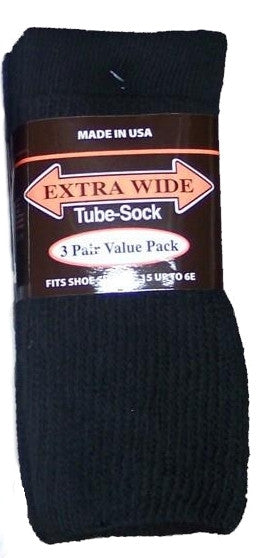 King Size Extra Wide Tube Sock (3Pr Pack)-3