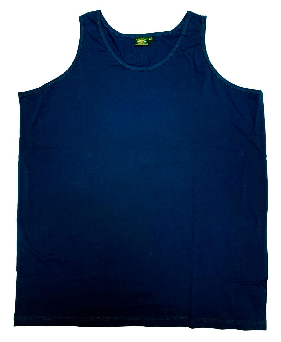 Falcon Bay Big Man Cotton Tank Top-5
