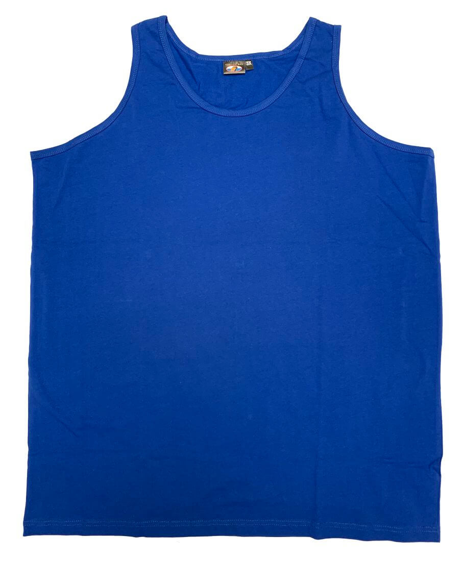 Falcon Bay Big Man Cotton Tank Top-1