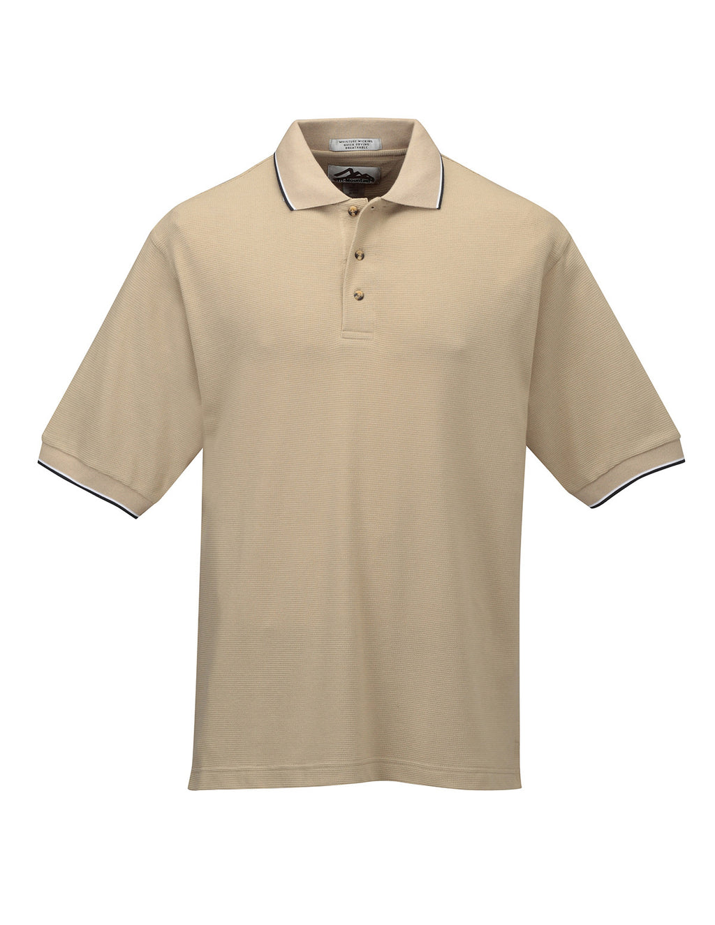 "Tri-Mountain Men's 7.8Oz 60/40 ""Ultracool"" Polo Shirt With Tipping-1"