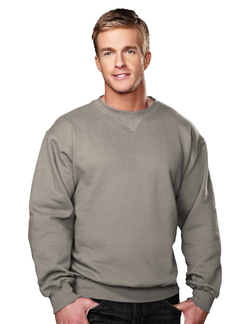 Tri-Mountain 10oz Heavyweight Crew Sweatshirt-6