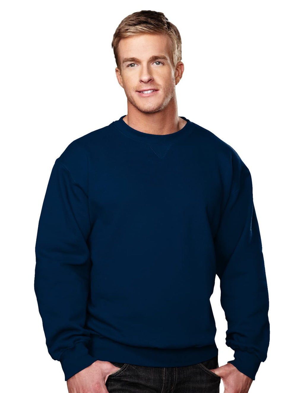 Tri-Mountain 10oz Heavyweight Crew Sweatshirt-8