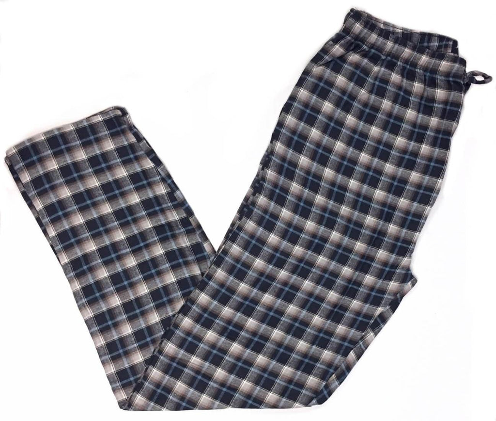 Men's Plaid Flannel Lounge Pants-21