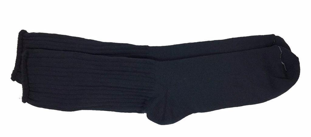 Wide Stretch Crew Sock