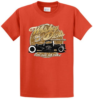 Whiskey Dicks Automotive Printed Tee Shirt