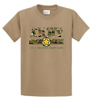 Lord's Army Printed Tee Shirt