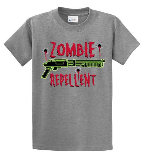Zombie Repellent Printed Tee Shirt-1