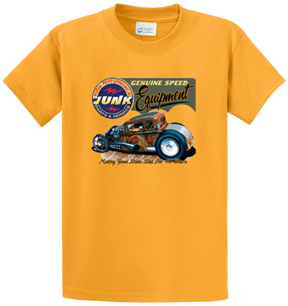Hot Rod High Performance Junk Printed Tee Shirt-1