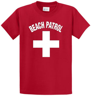 Beach Patrol Printed Tee Shirt