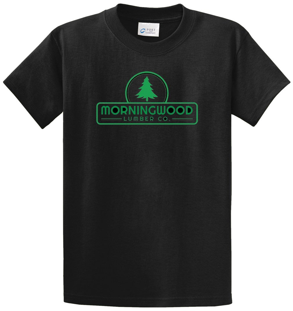 Morningwood Printed Tee Shirt-1