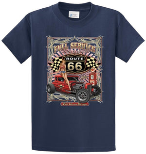Full Service Rt 66 Printed Tee Shirt