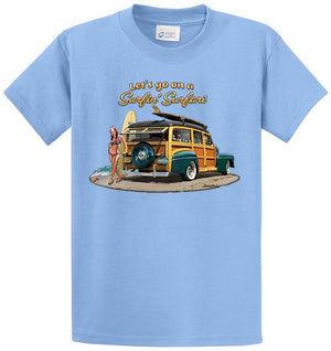 Surfin Safari Printed Tee Shirt